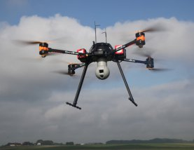 Drone for air analysis and pollution